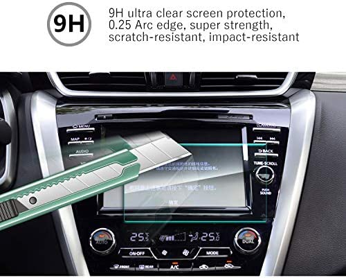 Feel Silky Anti-Explosion High Definition Navigation Film YEE PIN 2015-2017 Nissan Murano NissanConnect 8Inch Screen Protector