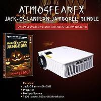 Atmosfearfx Windowfx Jack-o-Lantern Jamboree DVD Projector Bundle