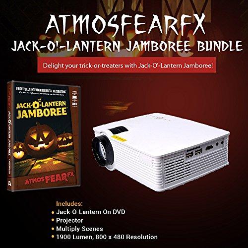 Atmosfearfx Windowfx Jack-o-Lantern Jamboree DVD Projector -