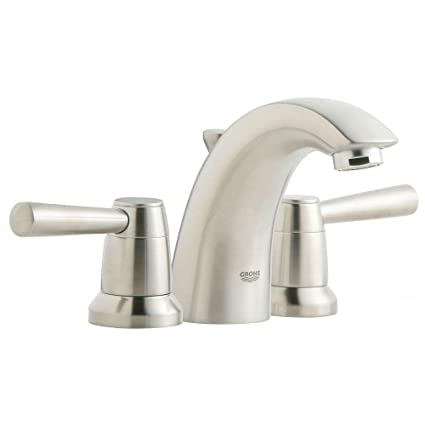 GROHE AMERICA 20120EN1 Arden 2HDL Basin 3-Hole - Touch On Bathroom ...