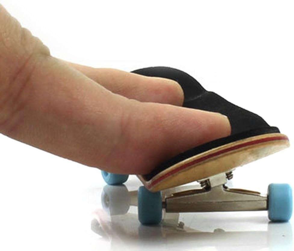 Jiken 1Set Mini Wooden Deck Fingerboard Skateboard Fingertip Ultimate Sport Training Props Novelty Finger Board Toys