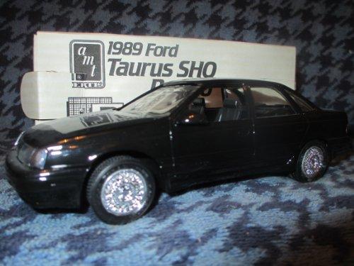 #6066PO AMT/ Ertl 1989 Taurus SHO,Black Metallic 1/25 Scale Plastic Promo Model Car, Fully Assembled (Promo Model Car)