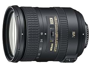 Nikon 18 - 200 mm f/3.5 - 5.6 G DX ED VR II - Objetivo para Nikon (distancia focal 27-300mm, apertura f/3.5, estabilizador óptico) color negro