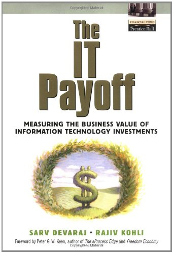 The It Payoff  Measuring The Business Value Of Information Technology Investments