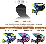 Natuway Kids Bicycle Helmet Detachable Full face