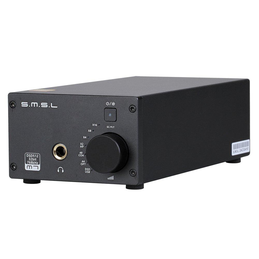 ヘッドフォンアンプ付きSMSL M7 2xAK4452 32ビット/ 768KHz DSD512ハイファイオーディオUSB DAC   B071XTCRZD