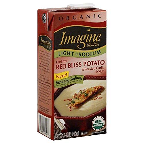 Sodium Creamy (Imagine Foods Organic Creamy Pot and Rstl Soup, 32 Ounce - 12 per case.)