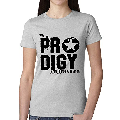 The Prodigy Babys Got A Temper Woman's T Shirt Grey