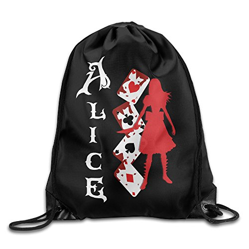 LMS Alice Madness Returns Drawstring Backpack Sack