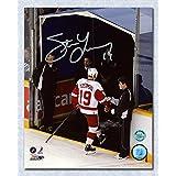 Steve Yzerman Detroit Red Wings Autographed Last Step 11x14 Photo