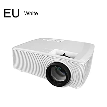 RD-816 Proyector mini de 1000 lúmenes, 1080P Full HD LED Proyector ...