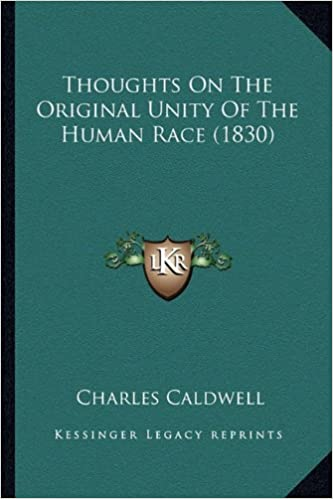 Los mejores ebooks para descargar gratis Thoughts On The Original Unity Of The Human Race (1830) (Literatura española) PDB