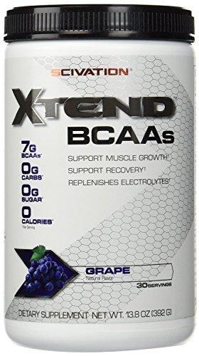 Scivation Xtend - Grape Escape, 30 Servings 13.8oz (Pack of 2)