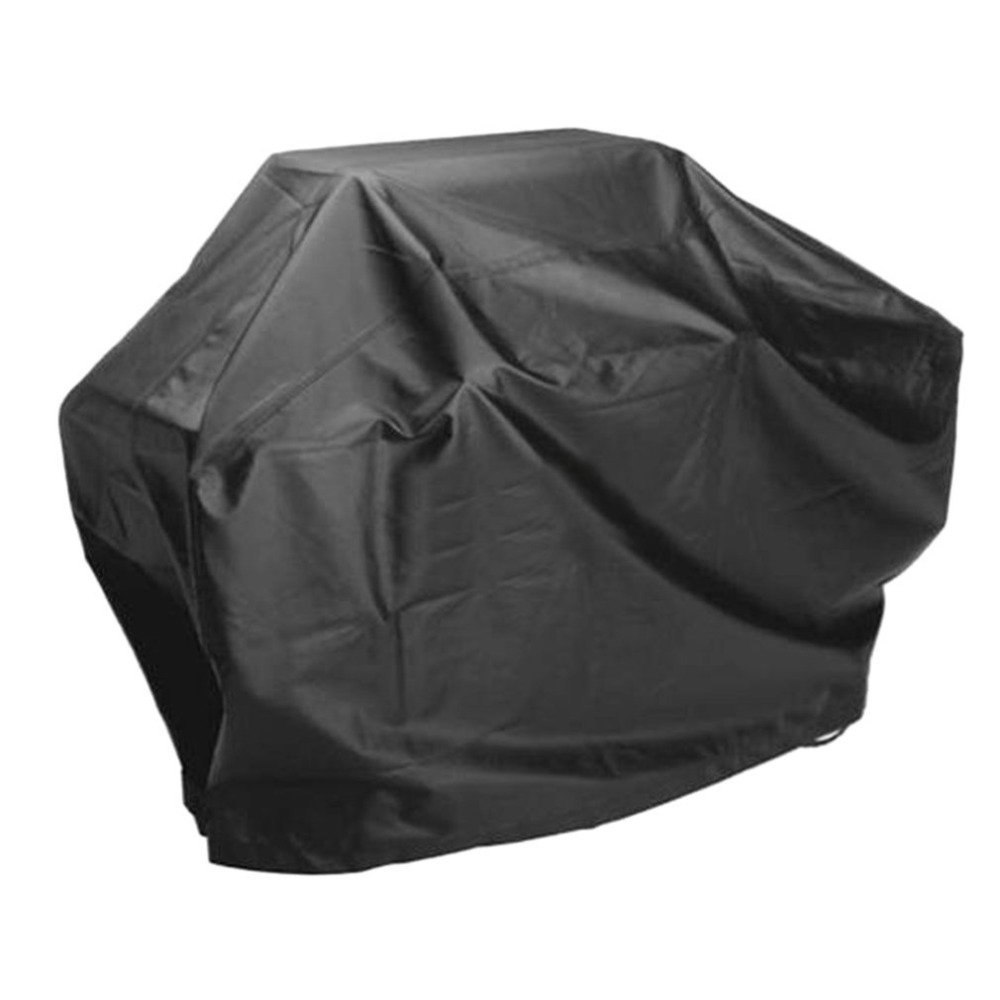 ... Waterproof BBQ Grill Barbeque Cover Outdoor Rain Grill Barbacoa Anti Dust Protector For Gas Charcoal Electric Barbecue Bag Black : Garden & Outdoor