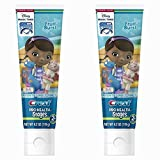 Crest Pro-health Stages Doc Mcstuffins Kid's Toothpaste 4.2 Ounce, (Pack of 2)