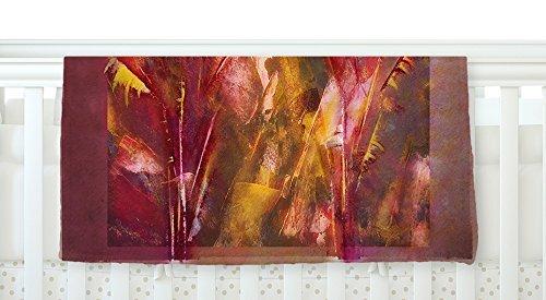 KESS InHouse Malia Shields Warmth Orange Red Fleece Baby Blanket 40 x 30 [並行輸入品]   B077ZP3MPG