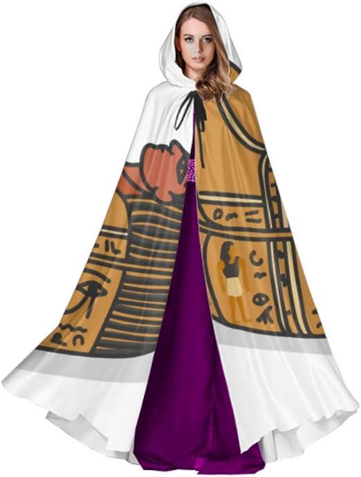 ZHANGhome Antiguo Egipto Sarcófago Faraón Cape Cloaks Cape Cloak ...