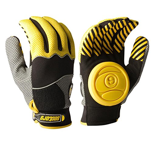 Sector 9 Apex Slide Gloves Yellow L XL