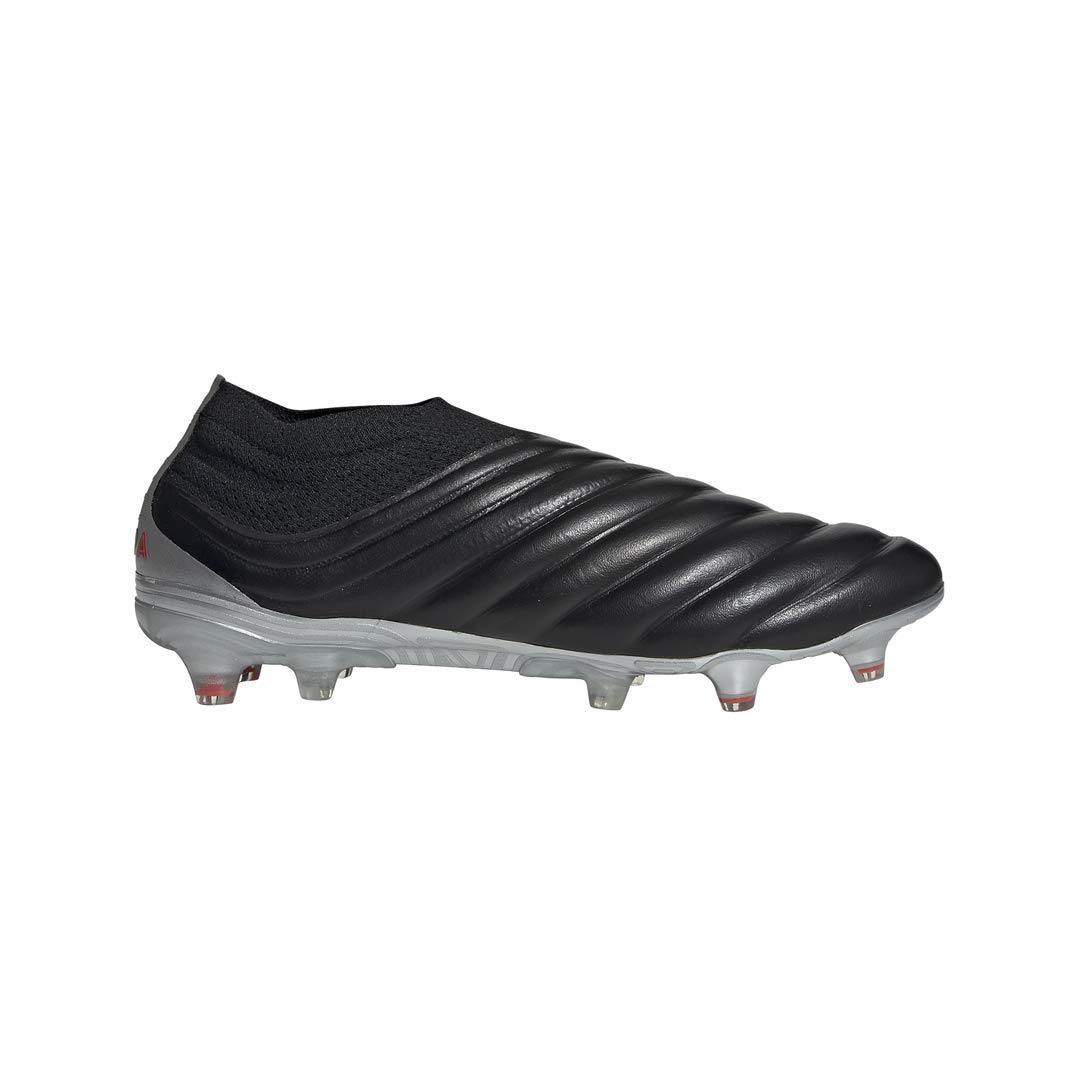 adidas Copa 19+ FG Cleat - Men's Soccer Core Black/Hi Res Red/Silver by adidas