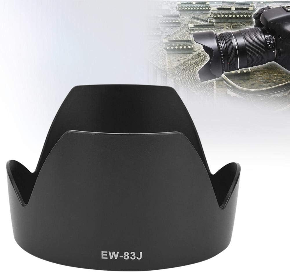 Vbestlife Camera Lens Hood EW-83J ABS Mount Lens Hood Replacement for Canon EF-S 17-55mm F//2.8 is USM Lens.