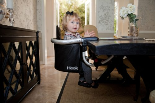 Amazon.com  Joovy Hook On Highchair Black Leatherette  Childrens Highchairs  Baby  sc 1 st  Amazon.com & Amazon.com : Joovy Hook On Highchair Black Leatherette : Childrens ...
