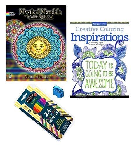 Mandala Inspirations Coloring Colored Sharpener product image