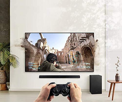 SAMSUNG 58-inch Class QLED Q60T Series - 4K UHD Dual LED Quantum HDR Smart TV (Alexa Built-in) with T450 Soundbar