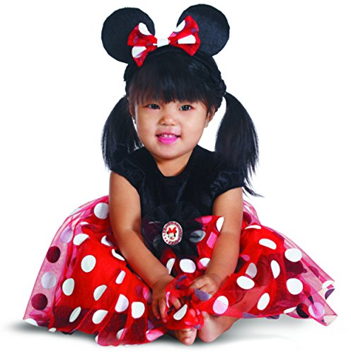 Disney Costume For 1 Year Old (Disguise My First Disney Red Minnie Costume, Black/Red/White, 6-12 Months)