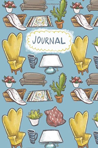 Furniture Adorable (Journal: Cozy cute interior design 6 by 9 softcover journal)