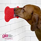 Perfect Curve Lick Lick Pad Dog Distraction Device, Large, 2-pack, Red