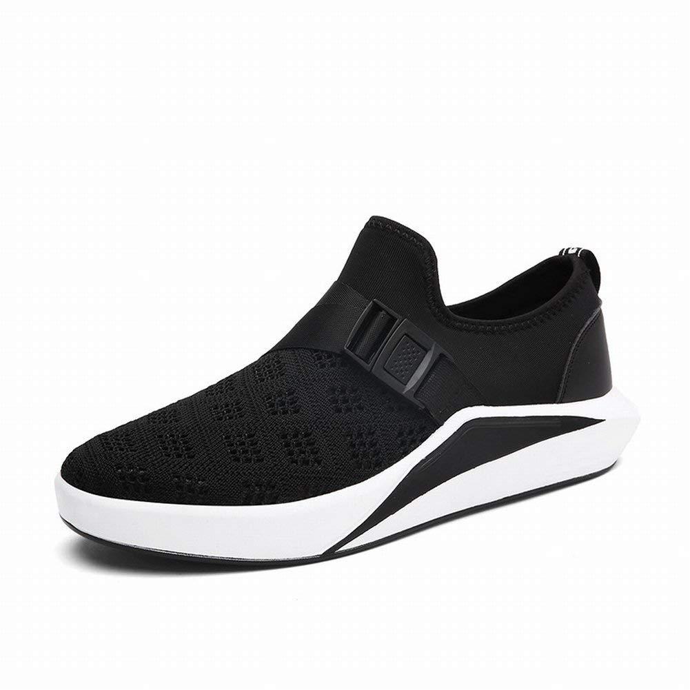 Tide Schuhe Herren Sportschuhe Atmungsaktiv Outdoor Schuhe Herrenschuhe (Farbe : Schwarz, Größe : 42)