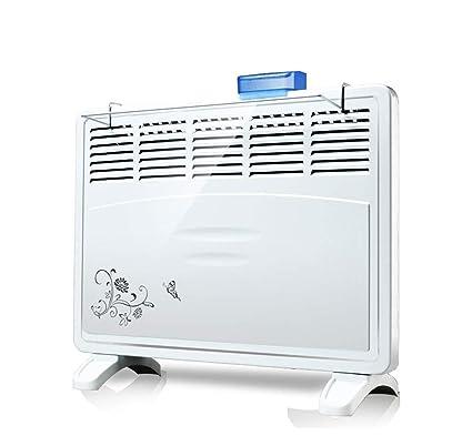 GONGFF Calentador De Panel Eléctrico De 2Kw con Termostato Ajustable, Temporizador De 24 Horas Y