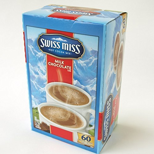 SwissMiss Suisumisu milk chocolate cocoa 28gX60 bags X2 boxes ConAgraFoods Hot Cocoa Mix instant cocoa by Suisumisu