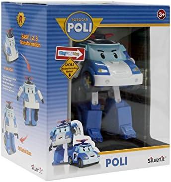 ロボカーポリー POLI DELUXE Transforming Robot #83094