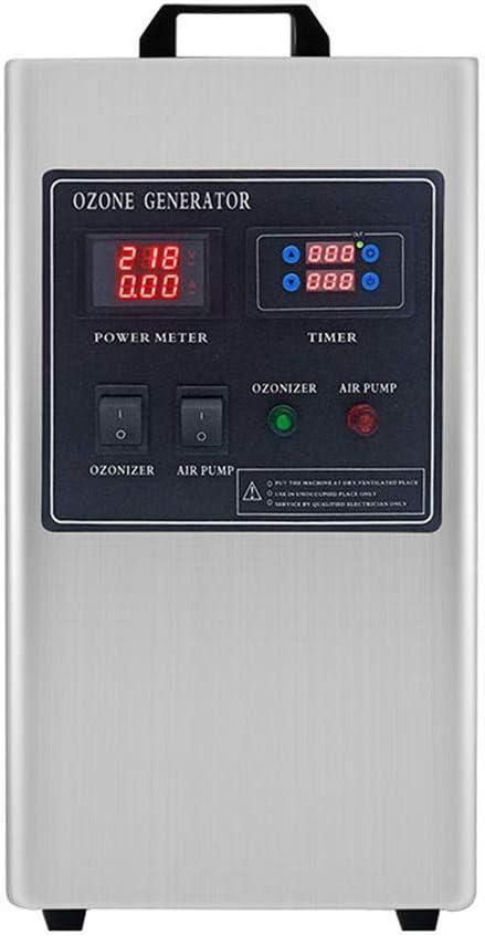 GXHGRASS Generador De Ozono Comercial, Purificador De Aire O3 ...