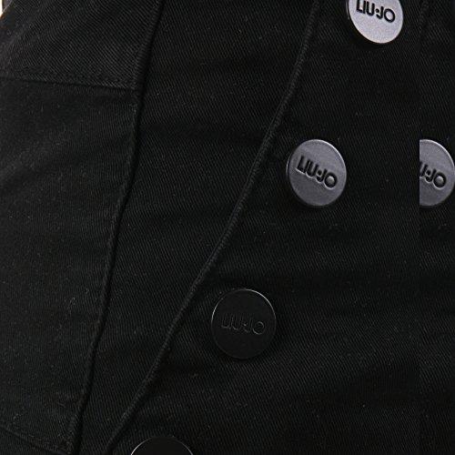 Liu Jo Mujer C66344T763722222 Negro Algodon Jeans