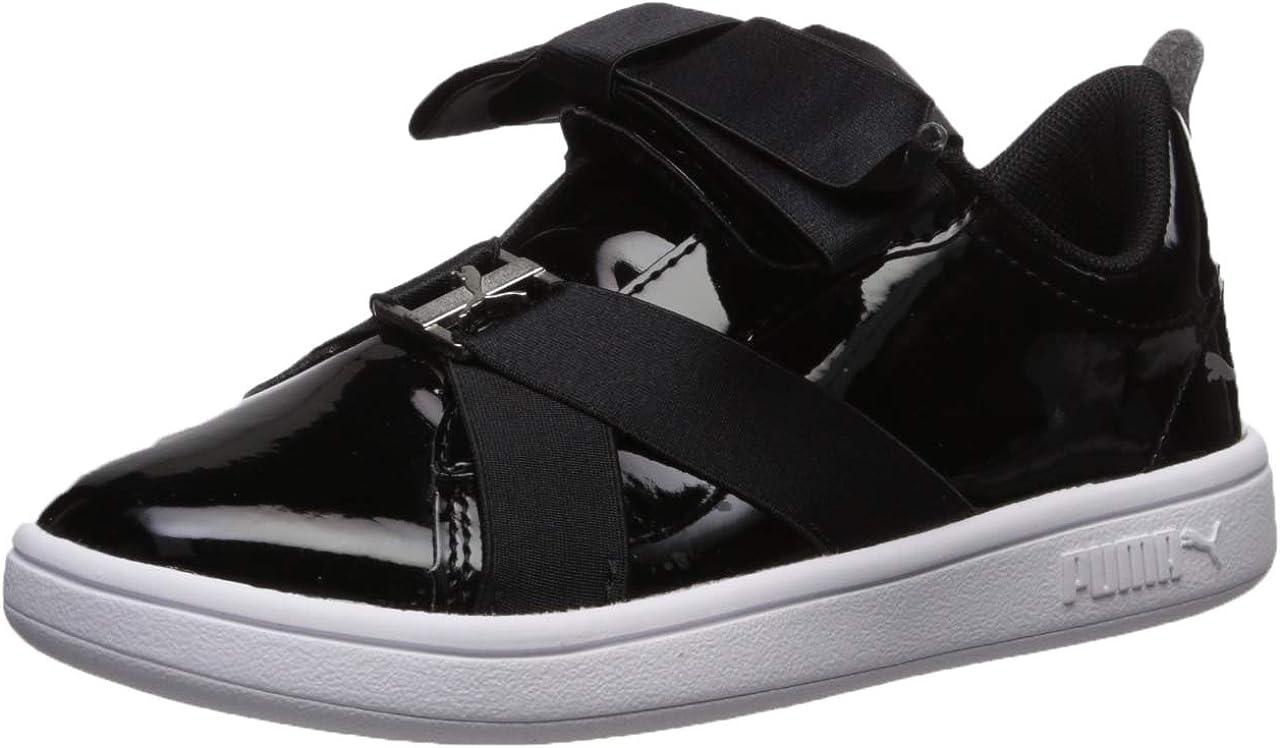 PUMA Girls' Smash V2 Slip ON Sneaker