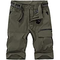 Vcansion Men's Summer Outdoor Lightweight Hiking Shorts Sports Casual Shorts (Multiple Colors)