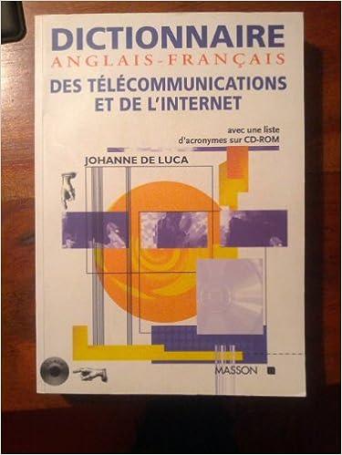 Livre gratuits Dictionnaire anglais-français des télécommunications et de l'Internet pdf, epub