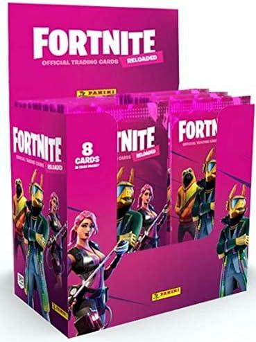 10 x Booster = 80 Karten Panini Fortnite Reloaded