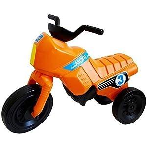 superMOPI Toddler Motorbike Ride-on Toy - orange