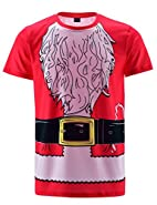 Funny World Men's Santa Claus Costume T-Shirts