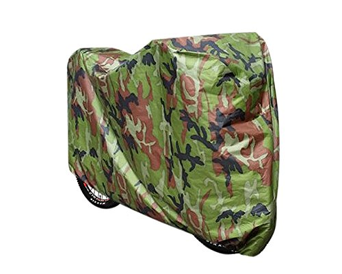 Ace Cover (Ace Select Bike Cover 190T Outdoor Waterproof Heavy Duty Bicycle Cover Bike Storage for Mountain and Road Bike - Camouflage - Small)