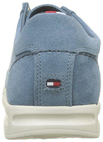 Hilfiger Casual Low 013 Herren Tommy Jeans Suede Cut Sneaker Blau dwTZZOq