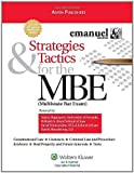 img - for Strategies & Tactics for the MBE Revised edition by Emanuel, Steven L. published by Aspen Publishers (2009) [Paperback] book / textbook / text book