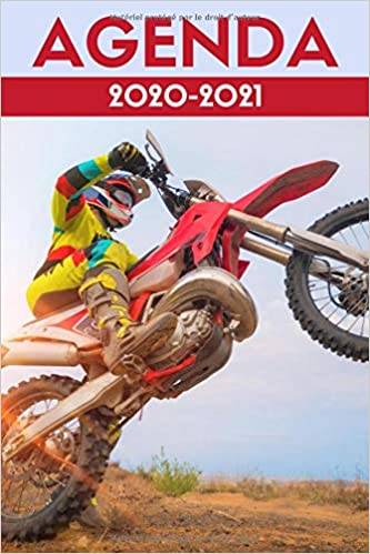 Calendrier Cross 2021 agenda moto cross 2020 2021: agenda scolaire 2020 2021 moto