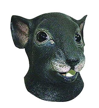 Ciao 79836 - Máscara de ratón de látex, gris