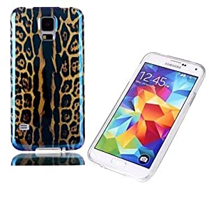 HJZ Leopard Print PC Back Cover for Samsung Galaxy S5