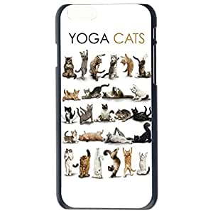 Fashion Custom Cat Design Cats Plastic Hard Case Cover Back Skin Protector For Apple iPhone 6G by Alexism Size80