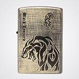 Zippo Black Leopard VIN Br Lighter Made in USA / South Korea Version /Genuine